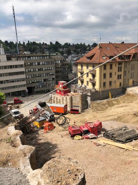 Baustelle Haldenhof